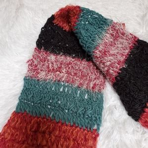 Collection Eighteen Accessories - GORGEOUS MULTICOLORED STRIPED SCARF!
